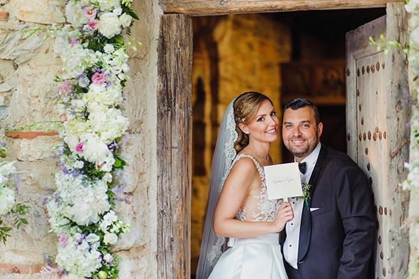 Elegant ρομαντικός γάμος σε κτήμα | Ελένη & Κυριάκος