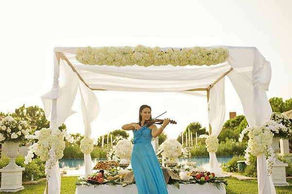 Ενισχυστε το γαμο σας με τον ηχο του βιολιου