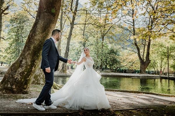 Ρομαντικός φθινοπωρινός γάμος στη Θεσσαλονίκη | Πωλίνα & Σπύρος