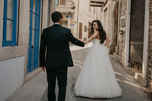 Ρομαντικός elegant chic γάμος στην Κύπρο | Φλωρεντία & Μάριος