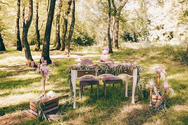 Ιδέες διακόσμησης για ρομαντικό γάμο