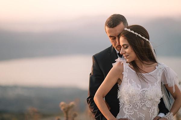 Ιδιαίτερος γάμος με ρομαντικές λεπτομέρειες | Γιώτα & Νίκος