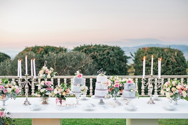 Wedding cakes and desserts ideas for a gorgeous wedding