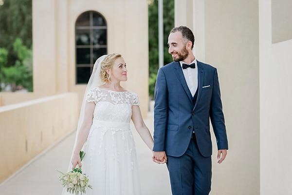 Όμορφος ρομαντικός γάμος σε παστέλ αποχρώσεις | Νάντια & Παντελής