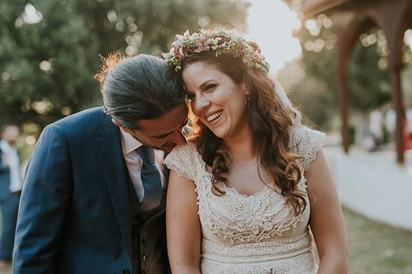 Πανεμορφος γαμος στη Χαλκιδικη με ρουστικ στυλ | Μαρια & Κωστας