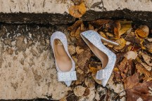 Νυφικα παπουτσια once upon a shoe