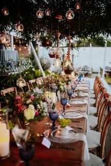 Ρομαντικη διακοσμηση με κερια
