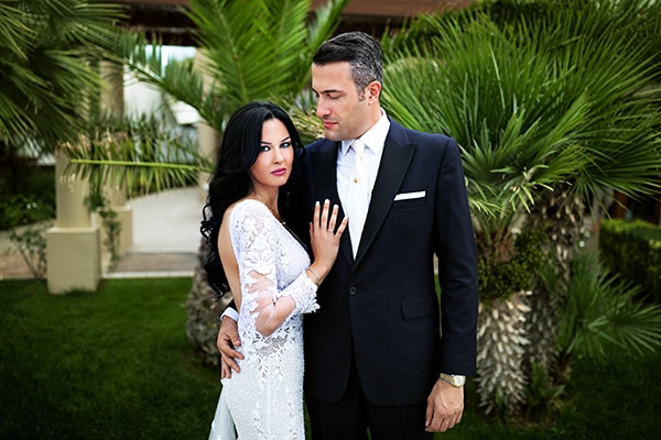 Elegant chic γάμος με κυρίαρχο χρώμα το λευκό | Άννυ & Χάρης