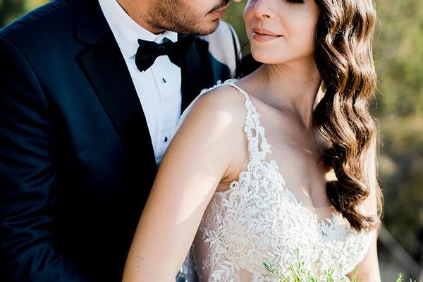 Elegant ρομαντικος γαμος σε λευκους τονους | Παναγιωτα & Χριστος