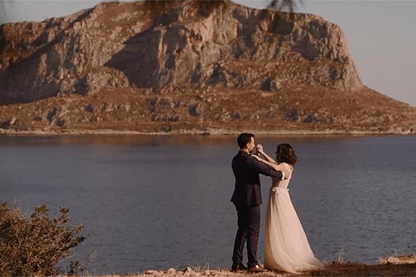 Ρομαντικο βιντεο γαμου στη Μονεμβασια | Ματινα & Νικος