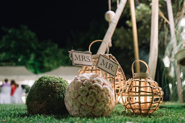 Ρομαντικη διακοσμηση με φαναρακια
