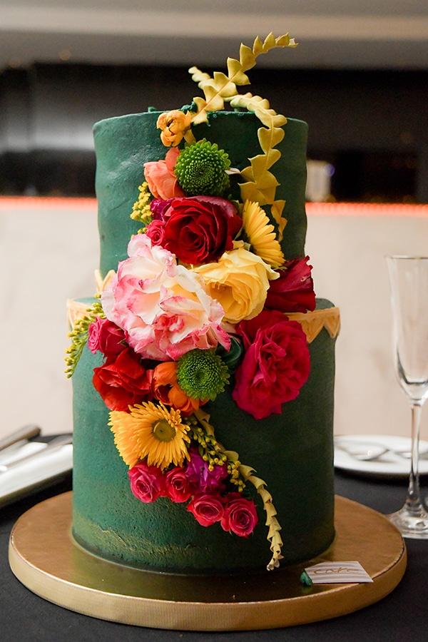 Ιδιαέτερη Moroccan style τούρτα γάμου