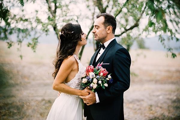 Φθινοπωρινος ρομαντικος γαμος στην Κοζανη | Βικη & Σταθης