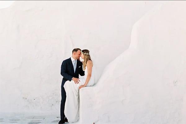 Όμορφο βίντεο γάμου στη Μύκονο