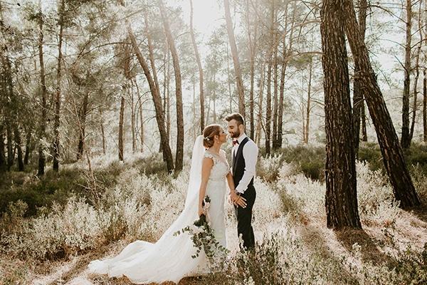 Ρομαντικός γάμος με παστέλ χρώματα στην Κύπρο | Δήμητρα & Βαλεντίνος