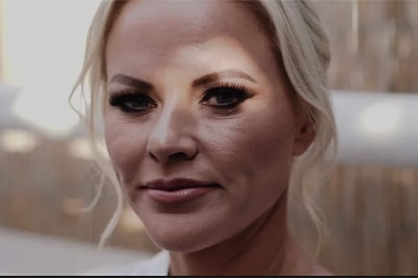 Ρομαντικο βιντεο γαμου στη Σαντορινη | Kate & Κωστας