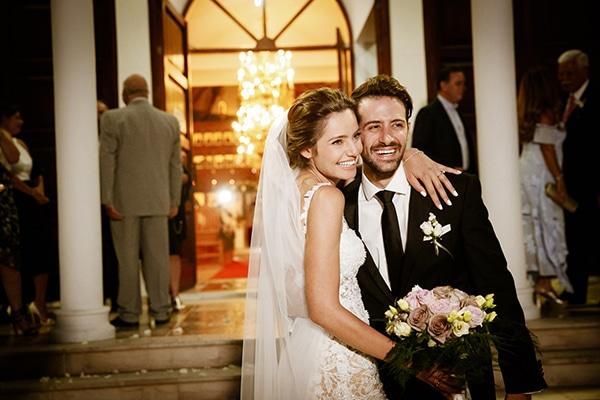 Ρομαντικός γάμος με παστέλ αποχρώσεις | Δήμητρα & Κυριάκος