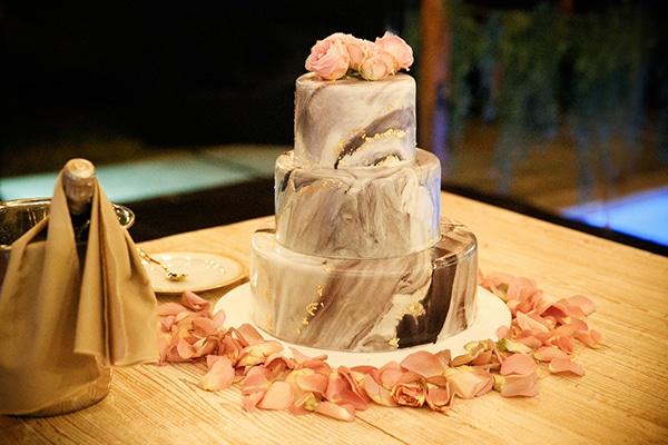 Marble τούρτα γάμου