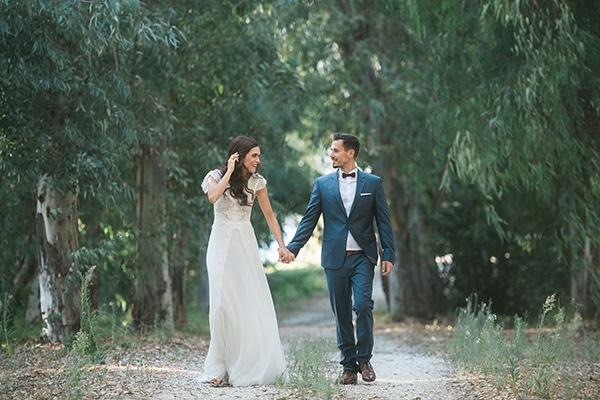 Ρομαντικός boho chic γάμος στη θάλασσα