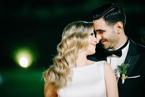 Ρομαντικός Χριστουγεννιάτικος γάμος σε αποχρώσεις του λευκού και του χρυσού | Μαρία & Γιάννης