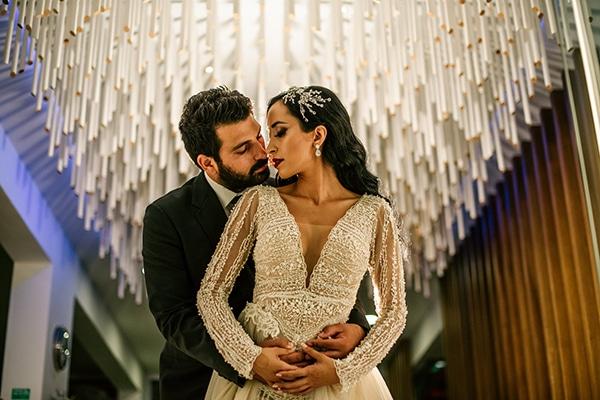 Ρομαντικός κομψός γάμος στην Κύπρο | Εύη & Σπύρος