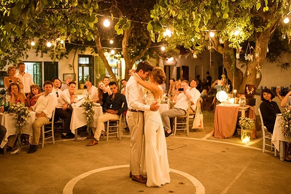 Ρομαντικός γάμος στην όμορφη Φολέγανδρο
