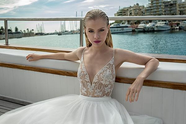 Ρομαντικά νυφικά φορέματα που θα λατρέψετε | Demetrios