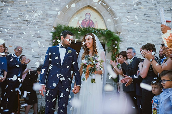 Rustic wedding in Cyprus with pastel hues