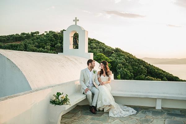 Καλοκαιρινός bohemian γάμος στη Σκιάθο