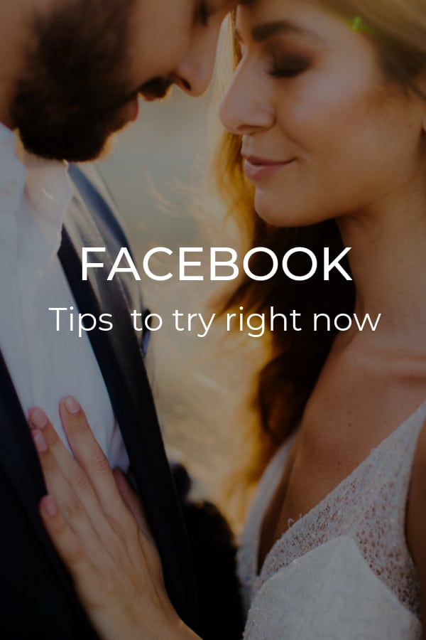 Tips for Facebook to try right now
