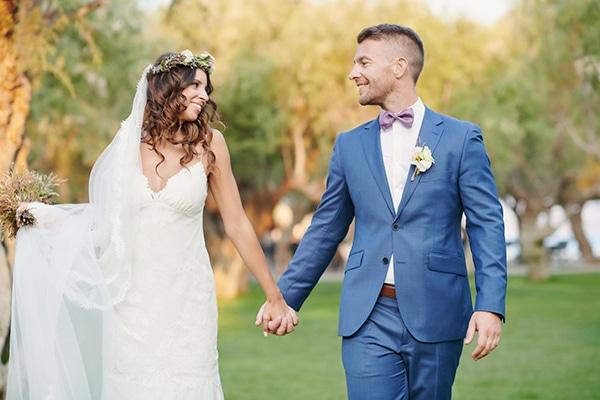 Πανέμορφος boho καλοκαιρινός γάμος στη Σάμο | Ξανθή & Matthew