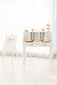 Vintage candy table