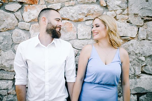 Elegant φθινοπωρινός γάμος με γεωμετρικά σχήματα | Βίβιαν & Κωνσταντίνος