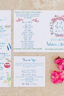 Stylish προσκλητήρια γάμου