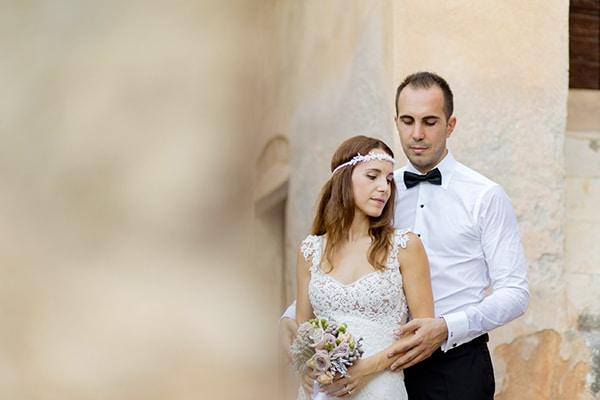 Ρομαντικός γάμος σε παστέλ αποχρώσεις | Πένυ & Νίκος