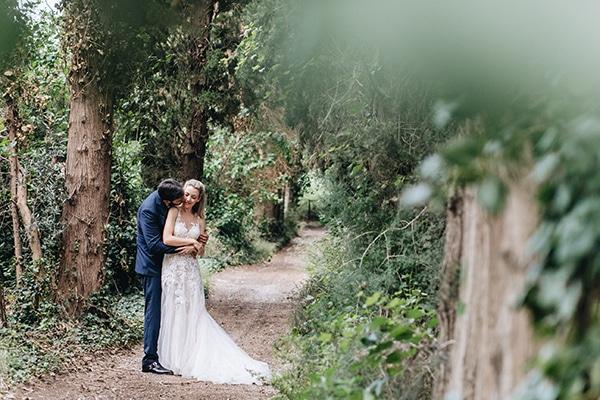 Ρομαντικός chic γάμος με παστέλ αποχρώσεις | Ελένη & Γιώργος
