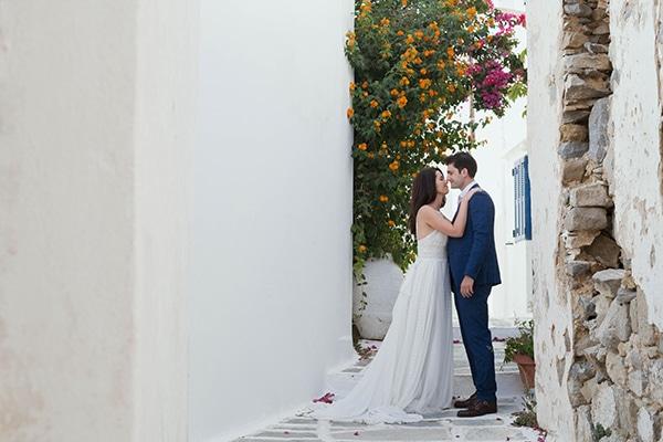 Ρομαντικός νησιώτικος γάμος στη Σέριφο | Αθηνά & Παναγιώτης