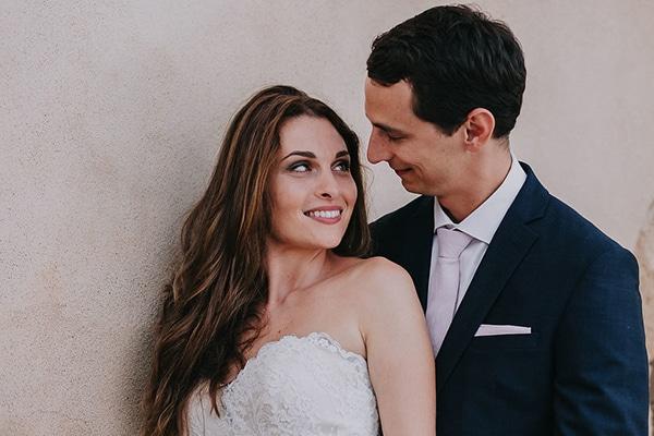 Ομορφος ανοιξιατικος γαμος | Ειρηνη & Αλεξης