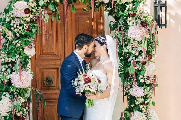 Πανέμορφος γάμος με rustic λεπτομέρειες στην Κρήτη