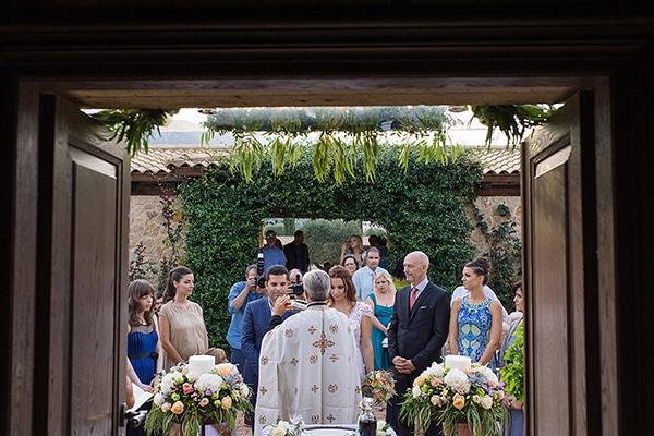 Όμορφος καλοκαιρινός γάμος σε παστέλ αποχρώσεις│Αγγελική & Νίκος