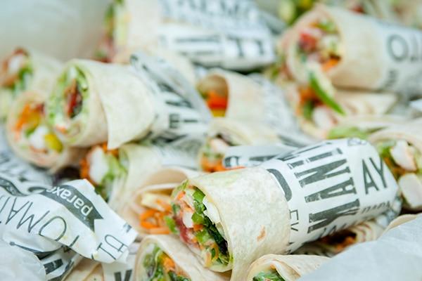 Delicious street food at weddings