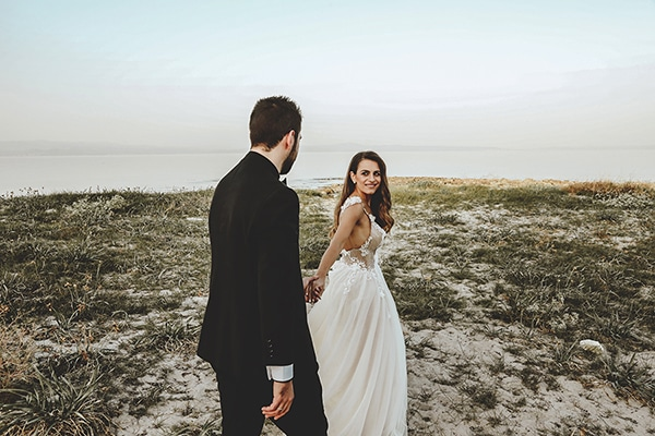 Elegant chic γάμος με ρομαντικές πινελιές | Δήμητρα & Βασίλης