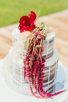 Naked τούρτα γάμου