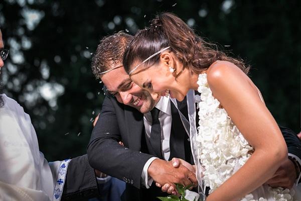 Φθινοπωρινός γάμος με λευκές ορχιδέες | Νικολέτα & Γιώργος
