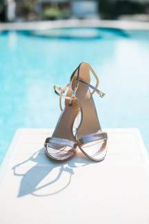 Καλοκαιρινα νυφικα παπουτσια