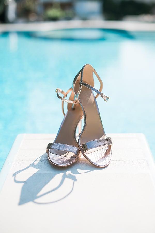 Καλοκαιρινά νυφικά παπούτσια