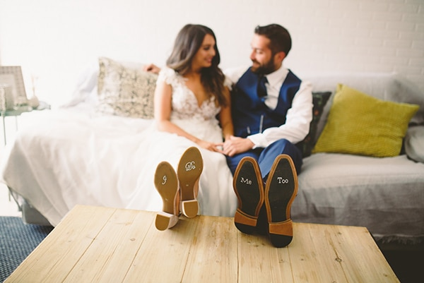 Wedding stickers for shoes