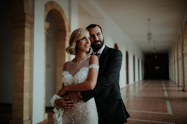Ρομαντικός καλοκαιρινός γάμος στην Κύπρο | Άντρια & Κωνσταντίνος