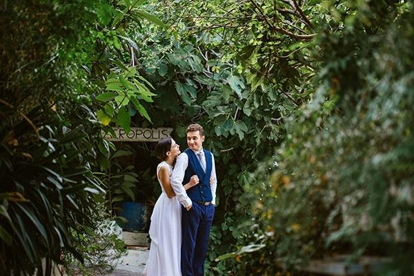 Ρομαντικός καλοκαιρινός γάμος με ροζ αποχρώσεις | Μαίρη & Γιώργος
