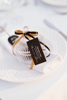 Κρυστάλλινη μπομπονιέρα γάμου